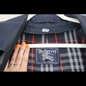 🧶🧵 Men's Blue Burberry's Coat 🧶🧵